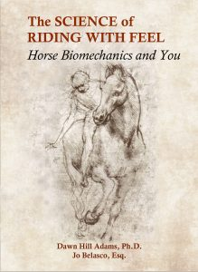 "This mock-up cover for ""The Science of Riding with Feel: Horse Biomechanics and You"" is based on a sketch by Leonardo Da Vinci (1452-1519). The final cover will feature a re-drawn image of the same figure. Your support of the book project covers the cost for producing this artwork and the over 100 illustrations, diagrams, and photographs in the book."